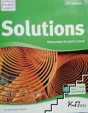 Solutions. Elementary Student's Book