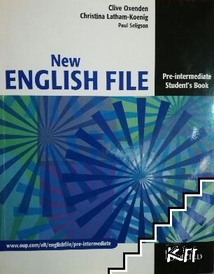 New English File. Pre-intermediate Student Book