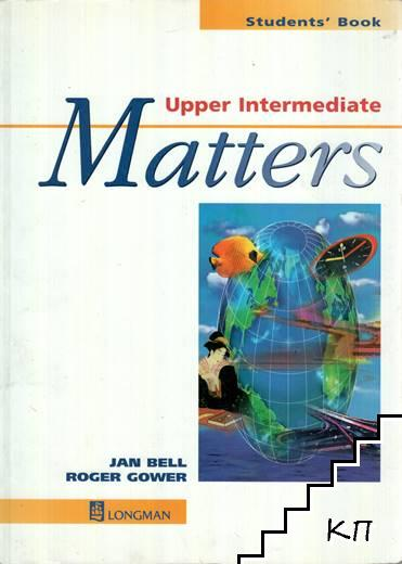 Matters. Upper Intermediate. Students' Book