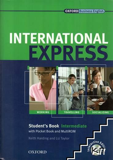 International Express. Student's Book with Pocketbook and MultiROM. Intermediate level