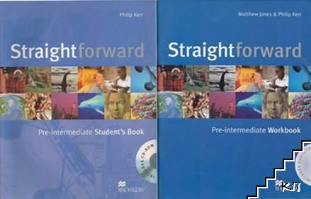 Straightforward Pre-Intermediate: Student's Book. Workbook + CD-ROM