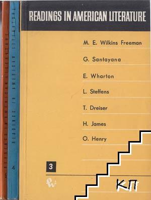 Readings in American Literature. Vol. 3-5