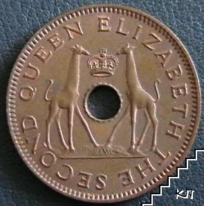 ½ пени / 1958 / Родезия и Нийсланд