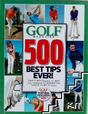 Golf magazine 500 best tips ewer