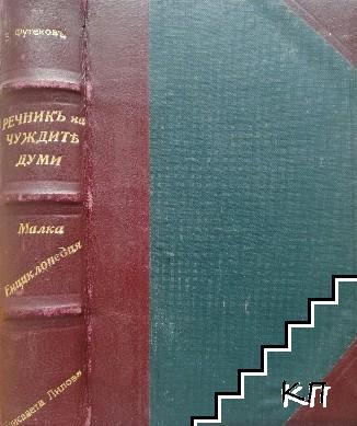 Речникъ на чужди думи