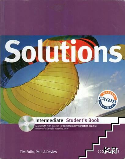 Solutions Intermediate Student's Book with MultiROM Pack