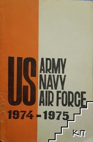 US Army Navy air force 1974-1975