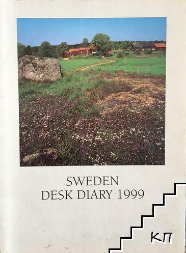 Sweden desk diary 1999