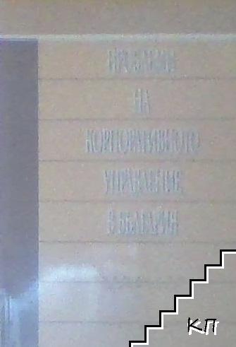 Проблеми на корпоративното управление в България