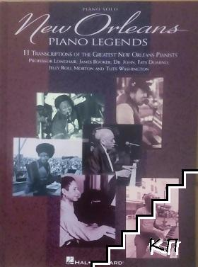 New Orleans. Piano legends