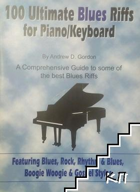 100 Ultimate blues riffs for piano/Keyboard + CD
