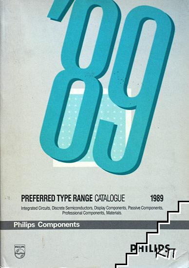 Preferred Type Range Catalogue 1989