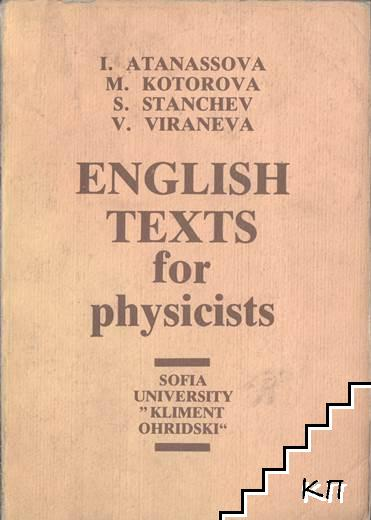 English texts for physicists