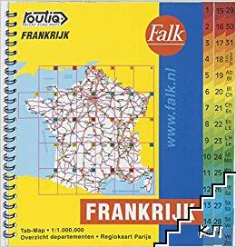 Atlas-road France- Frankrijk
