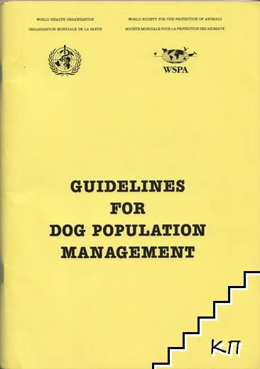 Guidelines for dog population management
