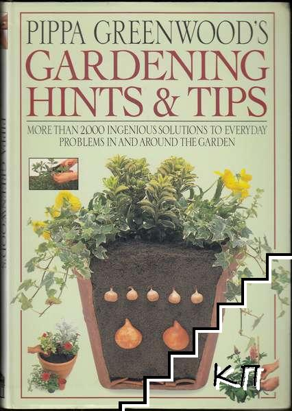 Pippa Greenwood's Gardening Hints and Tips