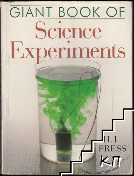 Giant Book of Science Experiments