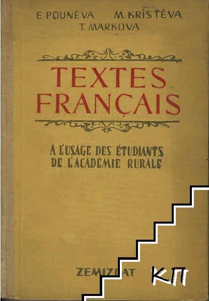 Textes français