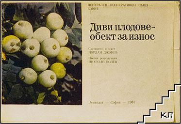 Диви плодове - обект на износ