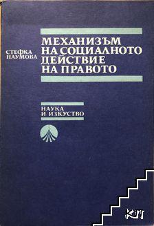 Механизъм на социалното действие на правото