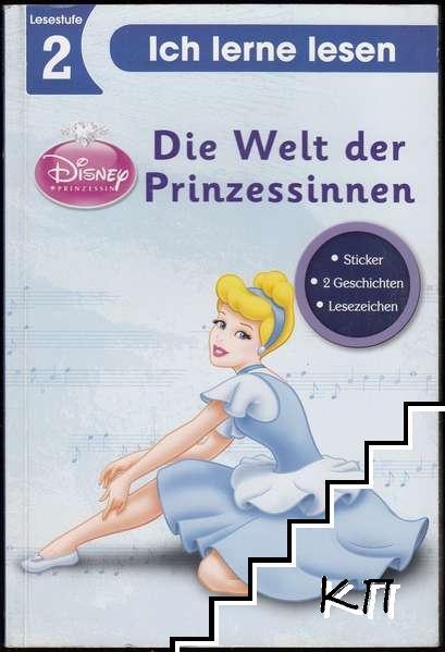 Die Welt der Prinzessinnen. Lesestufe 2: Ich lerne lesen