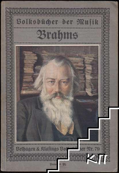 Volksbücher der Musik. Nr. 79: Brahms