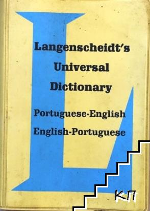 Langenscheidt's Universal Dictionary: Portuguese-English, English-Portuguese