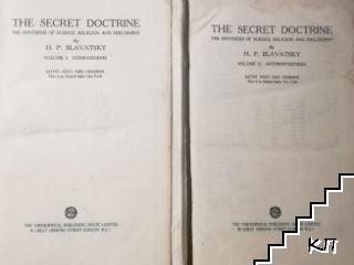 The Secret Doctrine. Vol. 1-2