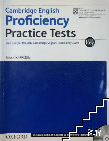Cambridge English Proficiency Practice Tests with key