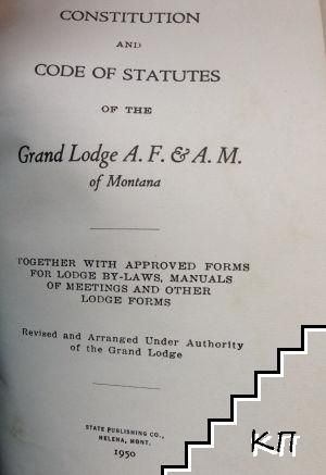 Constitution and Code of Statutes
