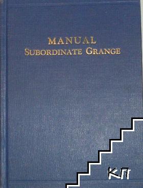Manual of Subordinate Granges