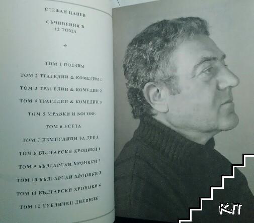Съчинения в дванадесет тома. Том 10: Български хроники III (1879-1943)