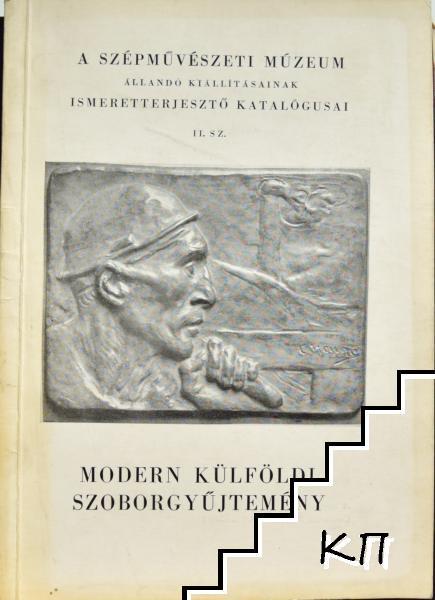 Modern külföldi szoborgyűjtemény
