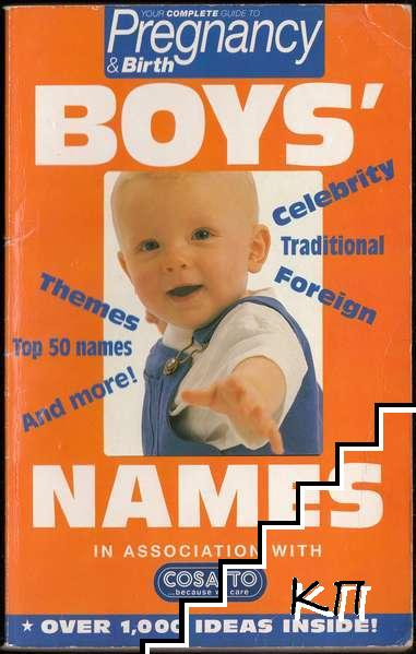 Complete Guide to Pregnancy & Birth. Book 2: Boys' Names