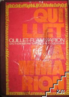 Dictionnaire usuel. Quillet Flammarion