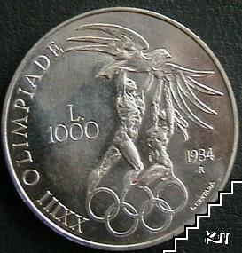 1000 лири / 1984 / Сан Марино