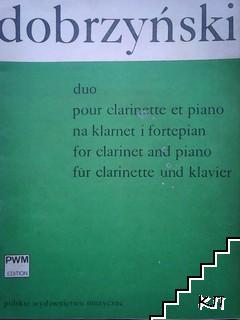 Duo pour clarinette et piano