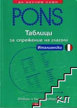 PONS. Таблици за спрежение на глаголи: Италиански
