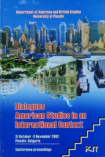 Dialogues American Studies in an International Context