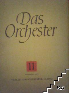 Das Orchester. №11 / 1955