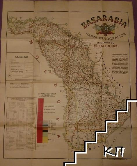 Harta etnografica Basarabia