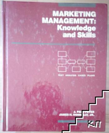 Marketing Management: Knowledge and Skills