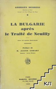La Bulgarie après le Traité de Neuilly