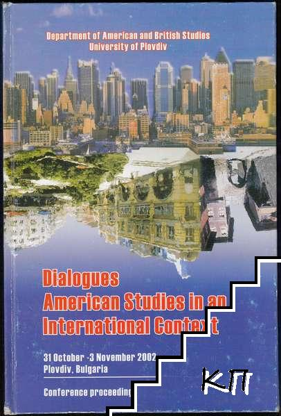 Dialogues: American Studies in an International Context