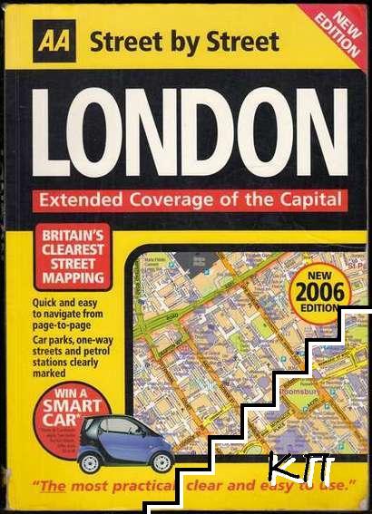 London: AA Street by Street Atlas