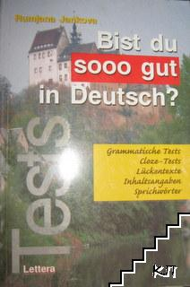 Bist du sooo gut in Deutsch?