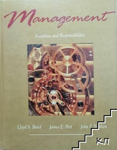 Management. Functions and Responsibilities