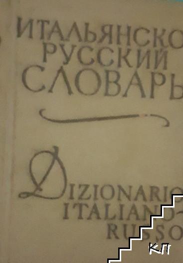 Карманный итальяно-русский словарь
