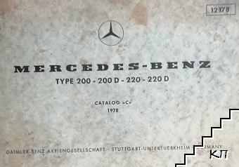 Mercedes-Benz. Type-200, 200D, 220, 220D