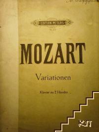 Variationen für klavier zu 2 Händen